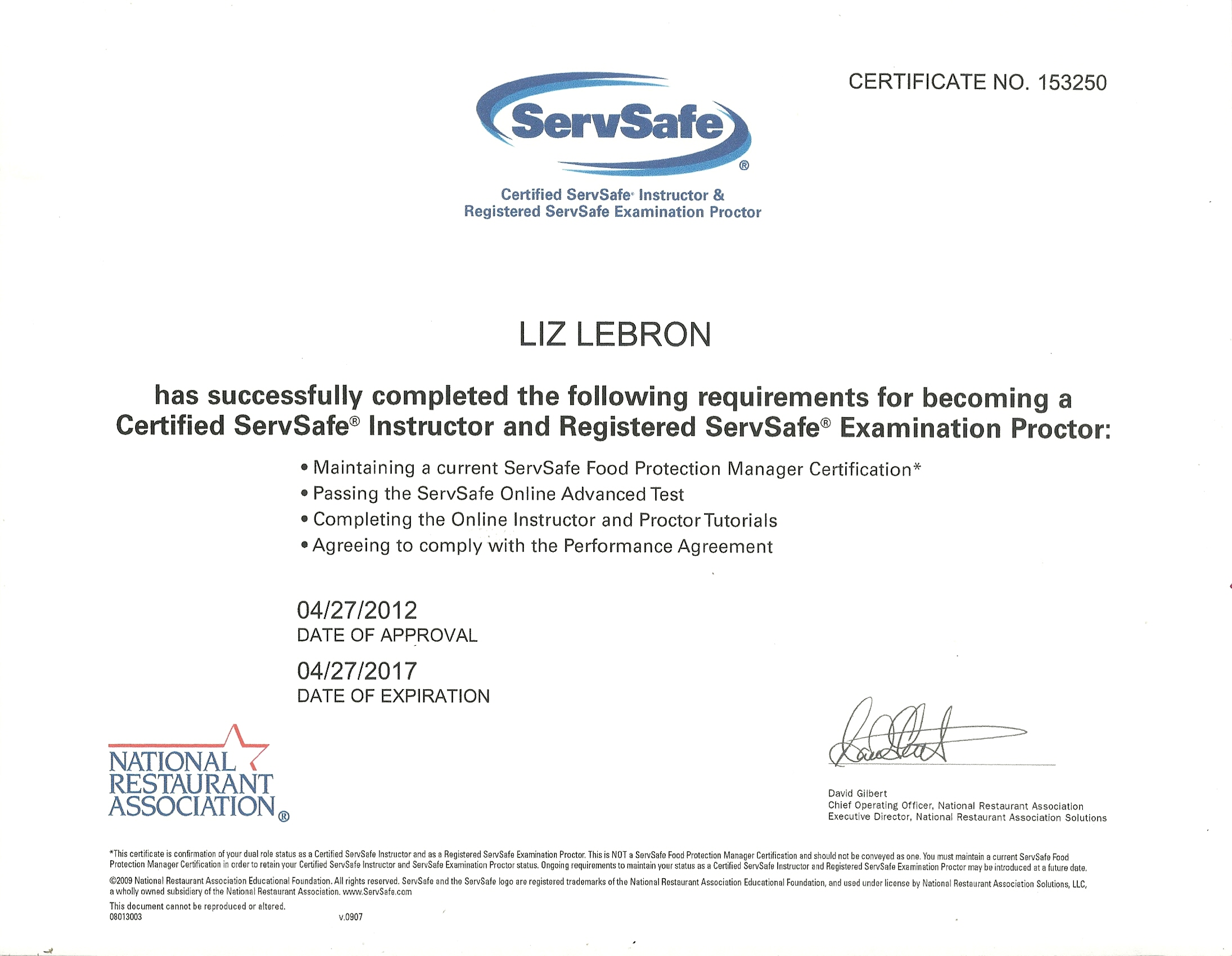Beautiful photograph of servsafe certification online business credenciales cfsi xflitez Image collections