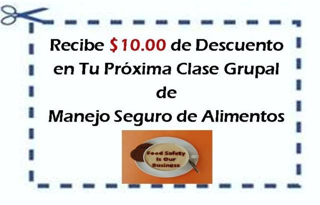 Cupon $10.00 de Descuento